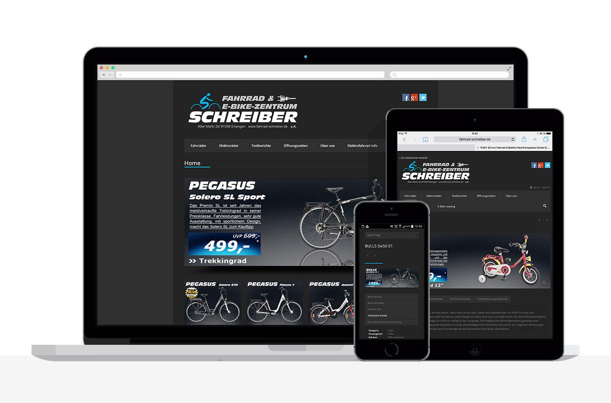 Internetseite: Fahrrad-Schreiber